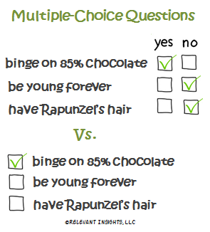 A Better Format for Multiple-Choice Questions in Online Surveys